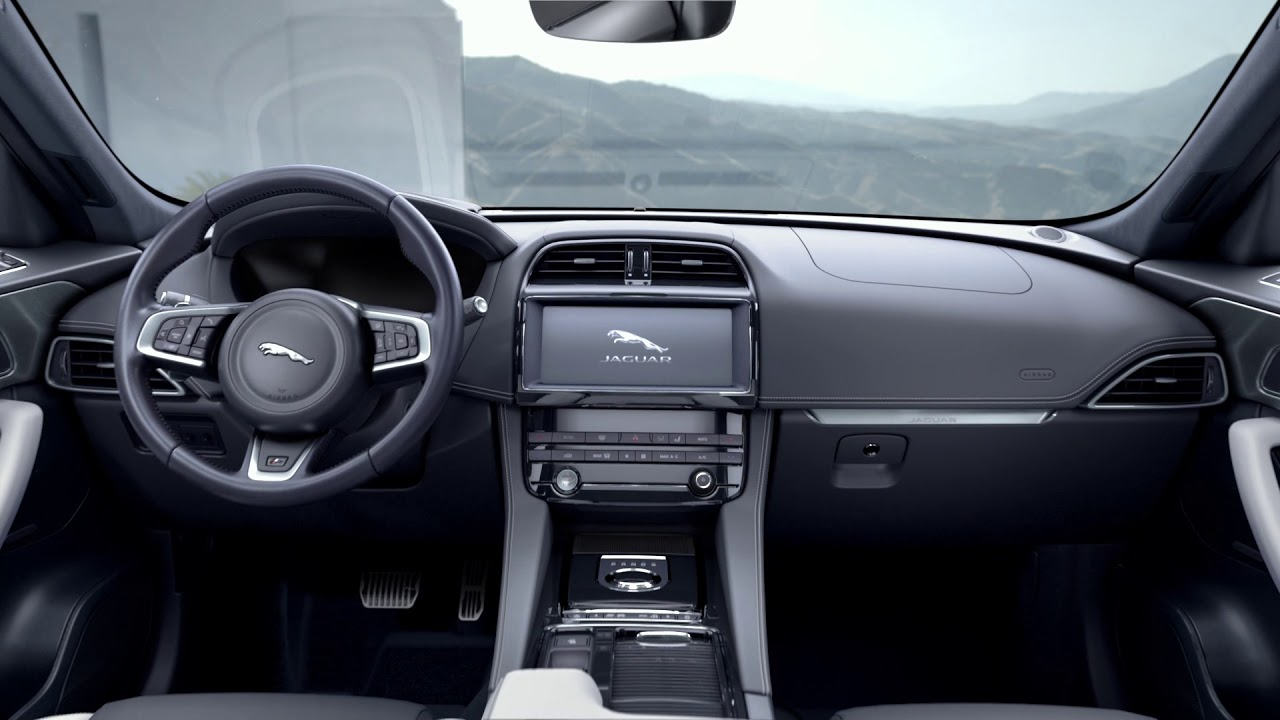 Jaguar Pace Interior >> Jaguar F Pace Luxury Interior Design Jaguar Usa Youtube