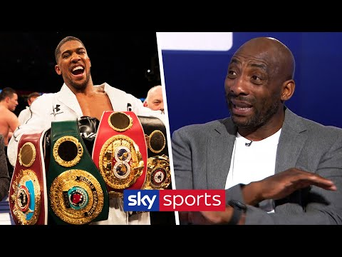 Johnny Nelson analyses Anthony Joshua's shortlist of potential opponents for June 1