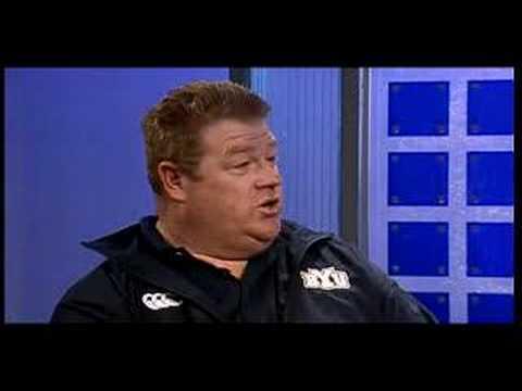 In-studio Interview with BYU Head Rugby Coach David Smyth