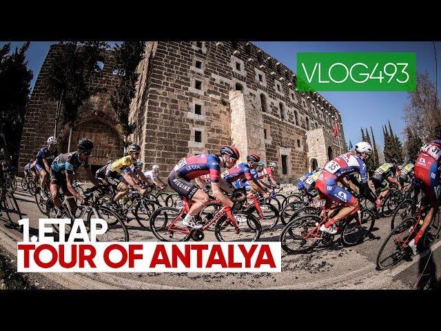 Harika Tur,  Tour of Antalya bisiklet turu başladı. Türkiye'nin en iyileri burada