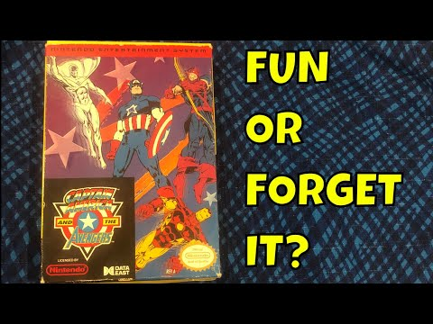 Captain America and the Avengers:  Fun or Forget It?