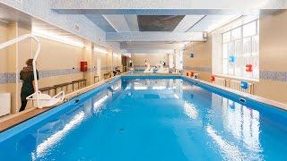Открытие бассейна в санатории Хилово