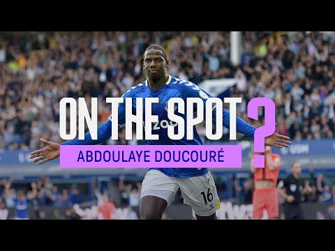 CHILDHOOD HERO?  THE MOST FUNNY PLAYER IN EVERTON?  DRESS ROOM DJ?  |  IN PLACE: ABDOULAYE DOUCOURE!