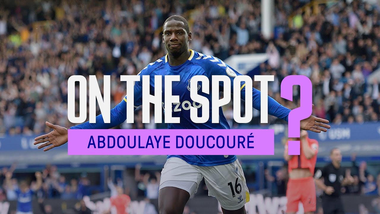 CHILDHOOD HERO? FUNNIEST EVERTON PLAYER? DRESSING ROOM DJ? | ON THE SPOT: ABDOULAYE DOUCOURE!