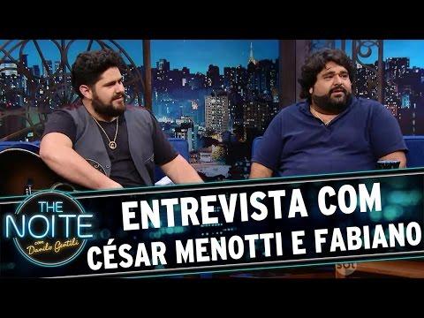 The Noite (14/04/16) Entrevista com César Menotti & Fabiano