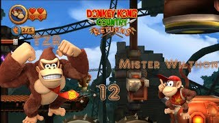 Let's Play Donkey Kong Country Returns Part 12: Ab in die Fabrik