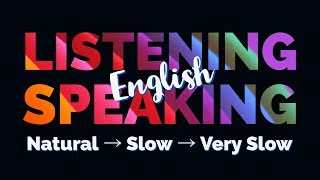 English Listening & Speaking Practice - Listen and Repeat the Sentences