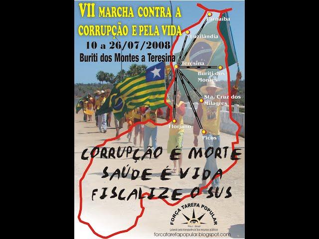 7ª MARCHA CONTRA A CORRUPÇÃO E PELA VIDA