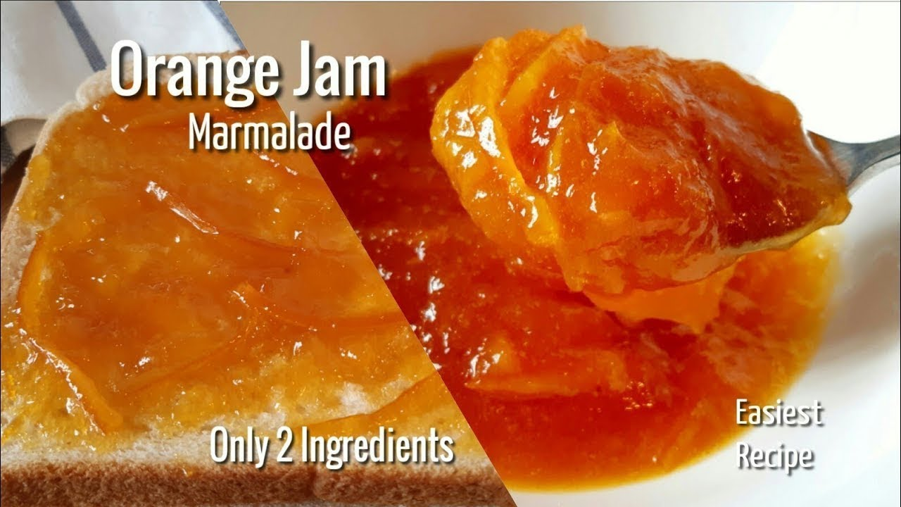 KHYBER SAHAR |How to Make Orange Jam