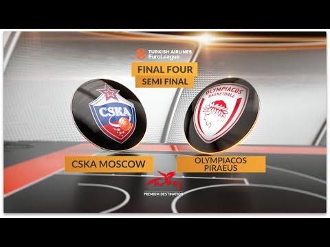 #GameON trailer: CSKA Moscow-Olympiacos Piraeus