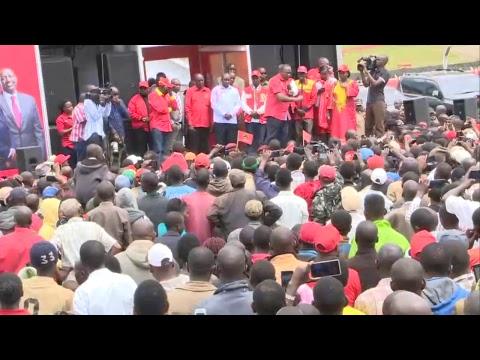 PSCU Kenya -Sotik in Bomet rallies