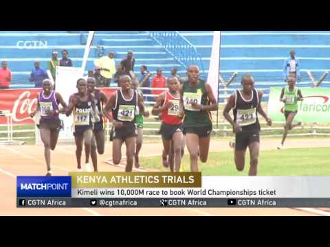 Kimeli wins 10,000M race to book World Championships ticket