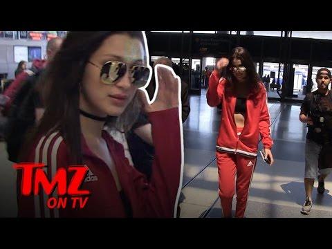 Bella Hadid Gives Us a Present | TMZ TV