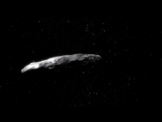 Oumuamua is Something Else?