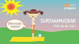 🎶 SALUDO AL SOL CANTADO | MiniPadmini (Yoga para niñas y niños)