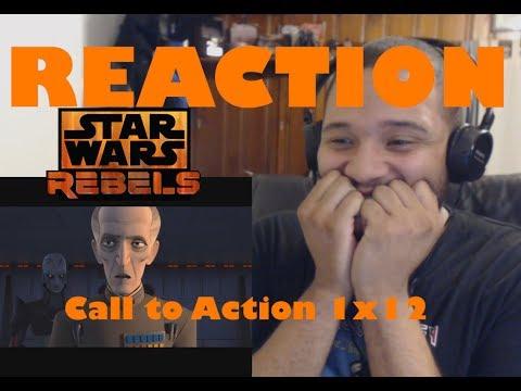 Star Wars Rebels Reaction Series Season 1 Episode 12 (Call to Action)
