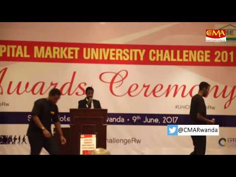AWARDS CEREMONY OF THE CAPITAL MARKET UNIVERSITY CHALLENGE 2017| 4th EDITION