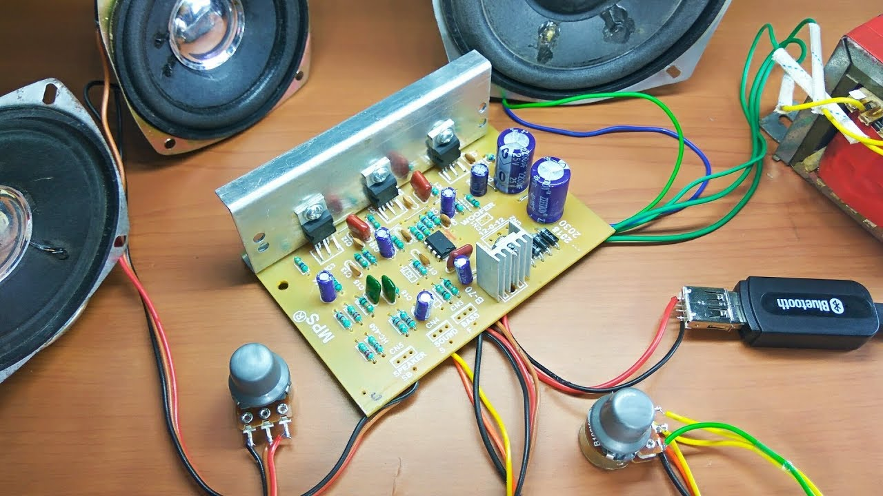 medium resolution of amplifier 2030 ic audio board