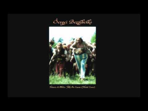 Asterix And Obelix Take On Caesar - Metal Cover - Sergei Bezzubenko