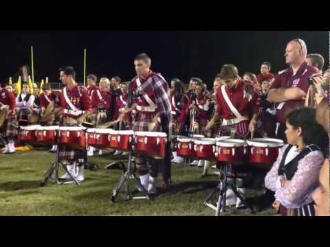 Highlander Drum Corps vs. Sarasota Drumline 2012