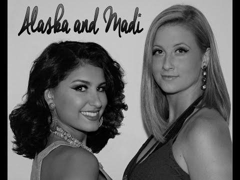 Alaska and Madi Singing Girl Crush at Utica Square Summer Nights