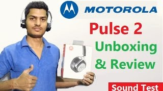 Motorola pulse 2 Unboxing and Review | Moto Pulse 2 | best budget headphone | Mr Technical