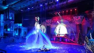 Цирковое водное шоу «Пираты подземного моря» в бассейне СК Олимпийский