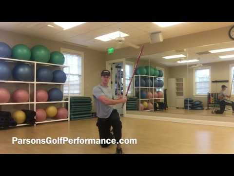 Golf exercise for faster club head speed and longer drives