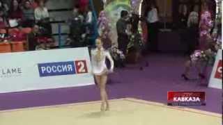 Выступление азербайджанской гимнастки Марины Дурунды на Гран-При Москва(http://www.vestikavkaza.ru/video/, 2014-03-05T14:14:23.000Z)