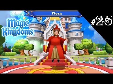 FLORA UNLOCKED | Disney Magic Kingdoms | #25