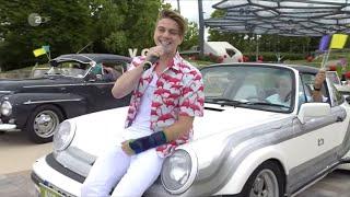 """Vincent Gross singt """"Chill Out Time"""" beim ZDF Fernsehgarten am 14.6.20"""