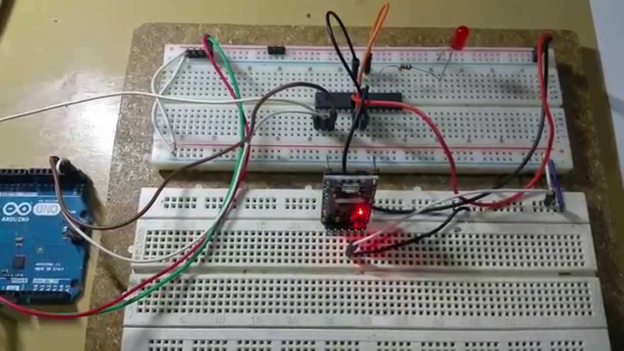 Upload sketches to breadboard arduino uno pro mini youtube
