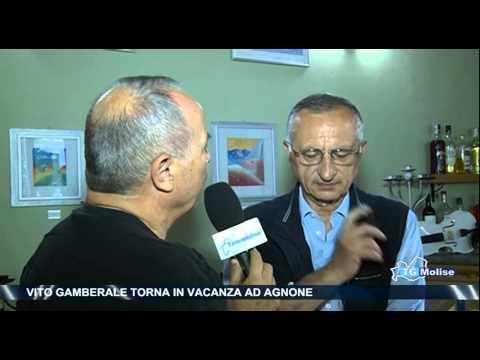 Vito Gamberale torna in vacanza ad Agnone