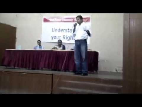 Warren Fernandes Speaks  At The East Indian Meeting - SEP 2015
