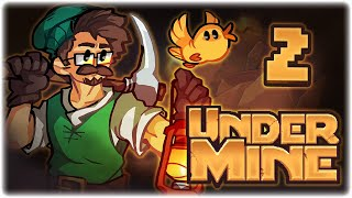 (SPOILERS) NEW REAL FINAL BOSS!! | 1.0 FULL RELEASE | Let's Play UnderMine | Part 2 | PC Gameplay