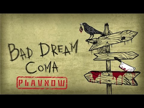 PlayNow: Bad Dream Coma   PC Gameplay (Point and Click Atmospheric Experience Game)