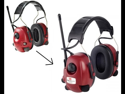 e60a42d6bf5 Peltor Alert Radio Headset M2RX7A2-01 (New Model) - YouTube