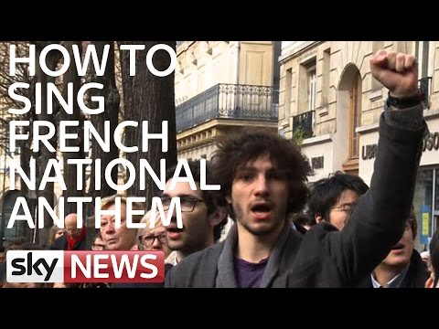 Words To The French National Anthem