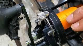 Lx Raptor spooled 80lb and 100lb Gen 3 hollow core
