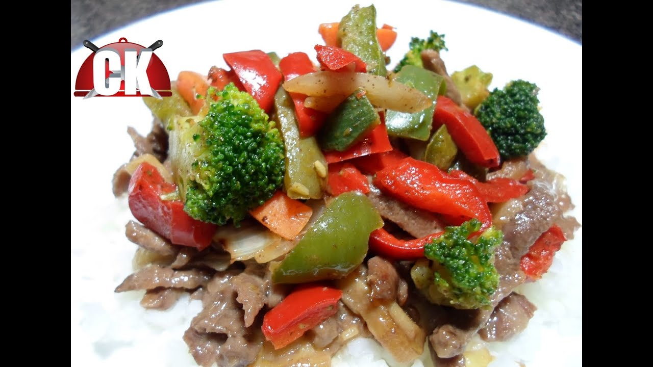 how to make beef stir fry soft