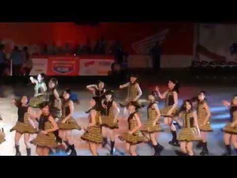 JKT48 - Lucky Seven @ GOR Andi Mattalatta Makassar