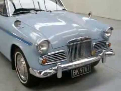 Waimak Classic Cars New Zealand Sunbeam Rapier Youtube