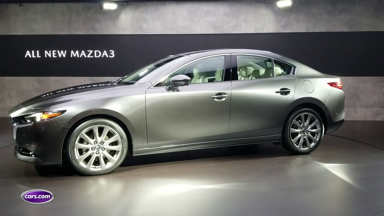 2019 Mazda3 First Look Cars Com Youtube