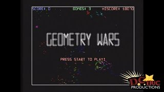 Geometry Wars Mini Game in Project Gotham Racing 2 (Xbox)
