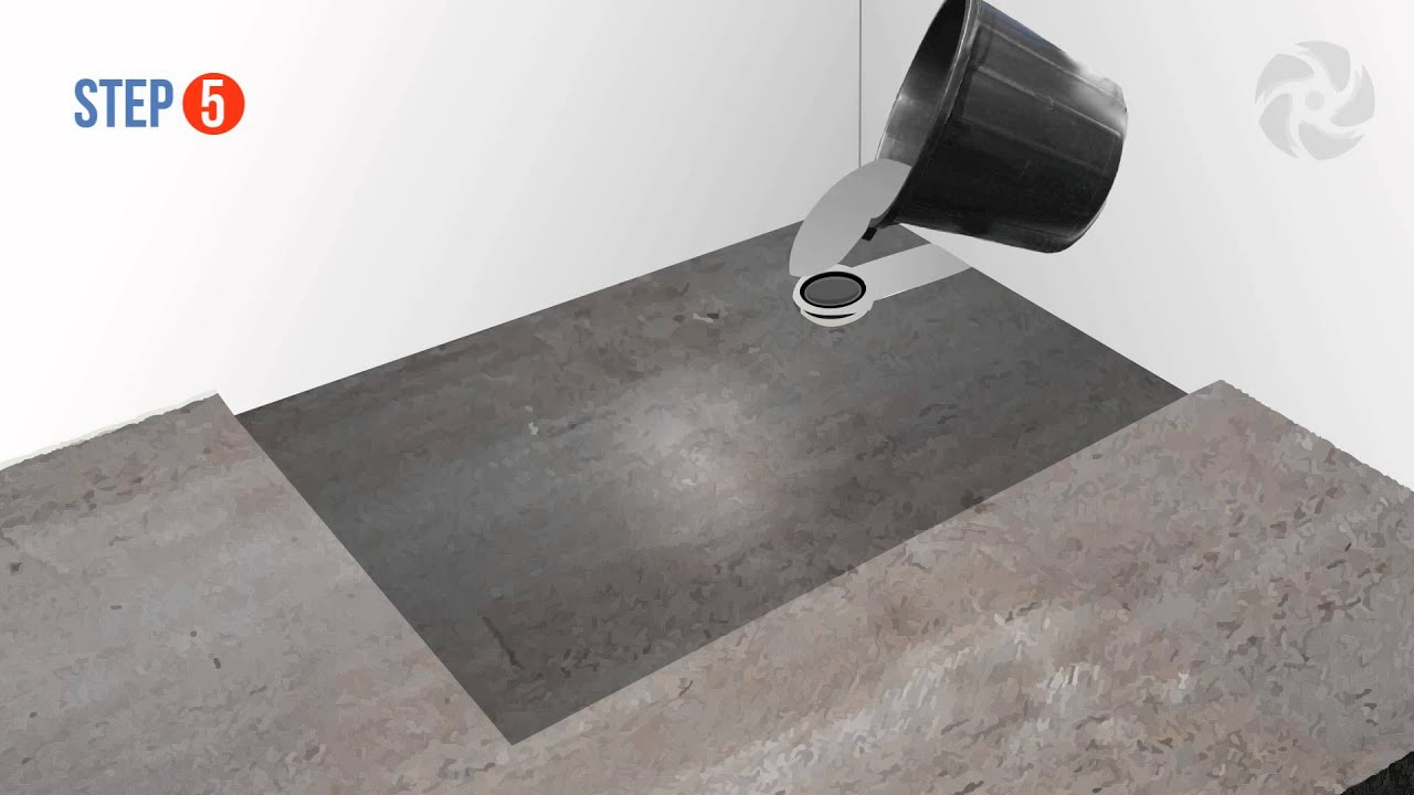 Wet room kits for concrete floors meze blog for Concrete floor upstairs