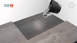 Installing a Level Wetroom Base on a Concrete Floor - Wetrooms Online