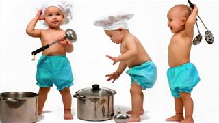 Funny photos and songs for Kids! Photo Animals with children: Compilation. Top 100 songs: