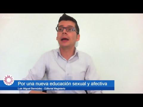 Por una nueva educación sexual y afectiva: Luis Miguel Bermudez - Ganador Premio Compartir 2017