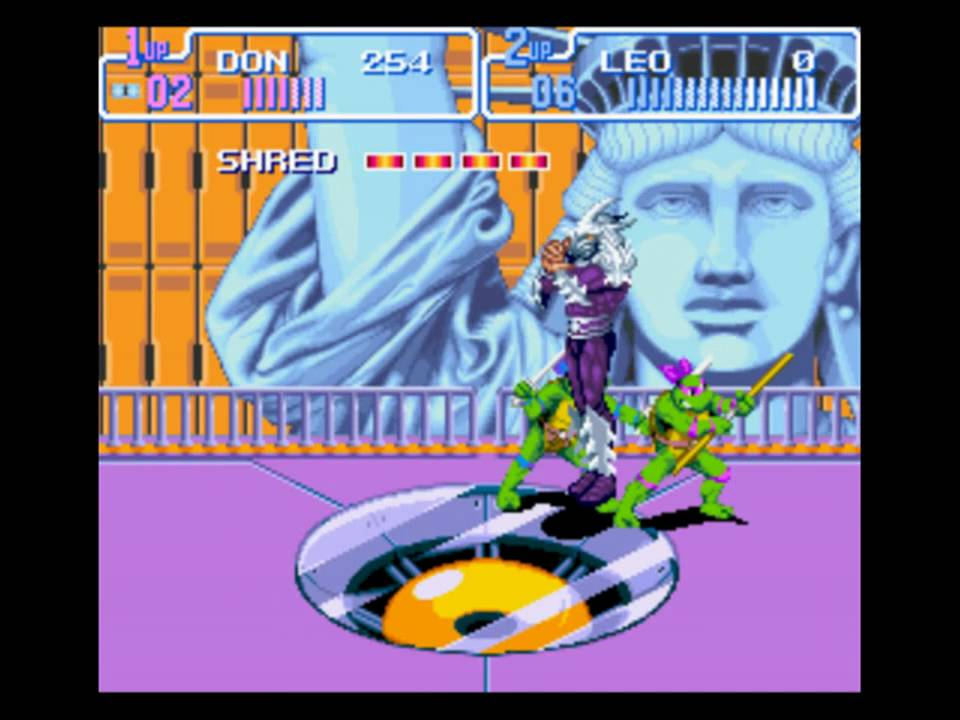 Image result for turtles in time snes final boss