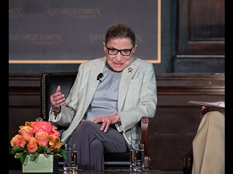 The Honorable Ruth Bader Ginsburg at Georgetown